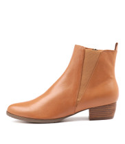TATES Ankle Boots in Tan Leather