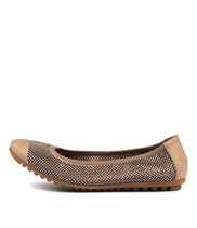 BOLLAD Ballet Flats in Flesh Leather