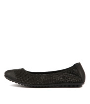 BOLLAD Ballet Flats in Black Leather
