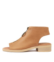 RESIGN Sandals in Tan Leather