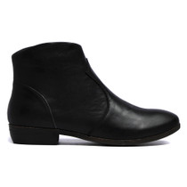 Oar Ankle Boots in Black Leather