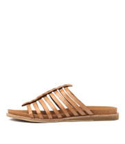 HILLARD Sandals in Tan Leather