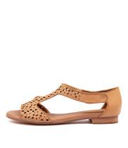 PRANAV Sandals in Latte Leather