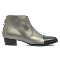 Tamba Ankle Boots in Pewter Leather