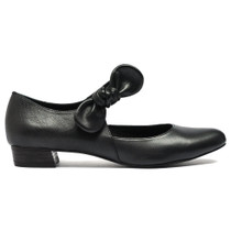 Eco Mary Jane Black Leather