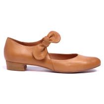 Eco Mary Jane Tan Leather