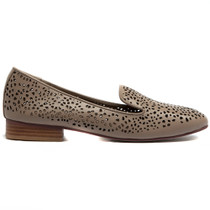 Allout Albert Loafer in Taupe Leather
