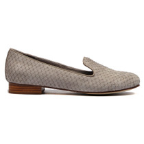 Abba Albert Loafer in Smoke Fish Leather