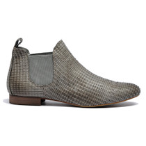 Glenvalia Ankle Boots in Stone Leather