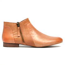 Gallie Ankle Boots in Tan Leather