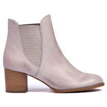 Sadorie Ankle Boots Pull On in Misty Leather
