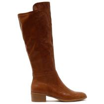 Tipton Knee High Boot in Tan Leather