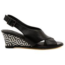 Ulohin Wedge Heel in Black