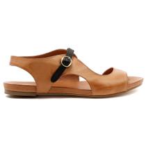 Jacobi Flat Sandal in Tan