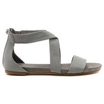 Jellin Flat Sandal in Grey