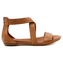 Jellin Flat Sandal in Tan