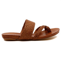 Gallow Flat Sandal in Tan