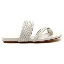 Gallow Flat Sandal in White