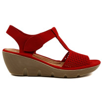 Torrid Wedge Heel in Red
