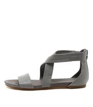 JELLIN Flat Sandals in Misty Leather