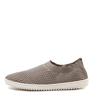TAZEMORE Slip-on Flats in Misty Leather