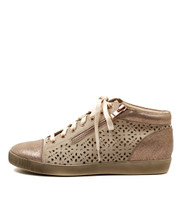 GALANT Sneakers in Rose Gold/ Nude Leather