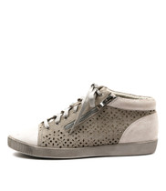 GALANT Sneakers in Silver/ Misty Leather