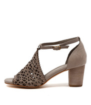CAVILA Heeled Sandals in Misty Leather