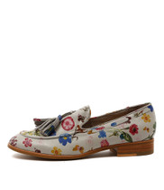 CESARE Loafers in Misty Printed Leather