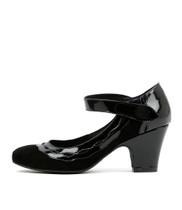 SPARZ High Heels in Black Patent Leather
