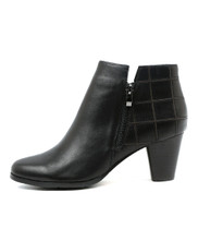 KINGS Ankle Boots in Black Leather