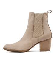 BEEMO Ankle Boots in Taupe Nubuck