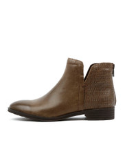 FABEL Ankle Boots in Mud Leather