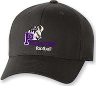 TCP Flex Fit Cotton Blend Hat-Black