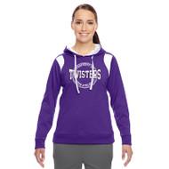 TCA Team 365 Women's Elite Performance Hoodie - Purple/White