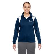 SON Team 365 Ladies' Elite Performance Quarter-Zip - Navy/White