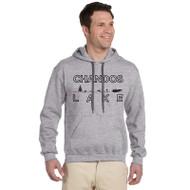 CLA - Adult Gildan Premium Cotton Hoodie - True Grey (CLA-011-GY)
