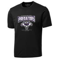 KW Predators Pro Short Sleeve Men's Authentic T-shirt - Black