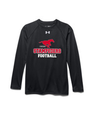 BMFA Under Armour Youth Long Sleeves Loccker T-Shirt - Black