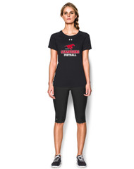 BMFA Under Armour  Women's Short Sleeves Locker T-Shirt - Black