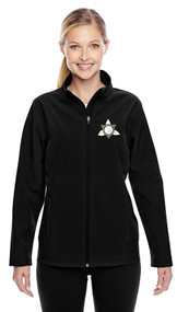 Ontario District Embroidered Ladies Jacket - Black