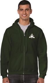 Ontario District - Gildan Adult Full Zip Hoody - Forest
