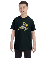 CMFA Gildan Heavy Cotton Youth Tshirt - Black