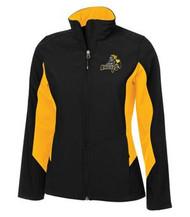CMFA Coal Harbour Soft Shell Ladies Jacket - Black/Gold