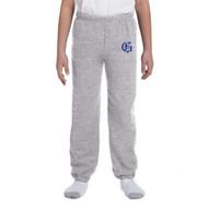 GMB Gildan Youth Heavyweight Track Pant - Grey