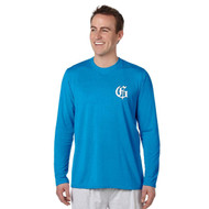 GMB Gildan Men's Long Sleeve Performance Tee - Royal