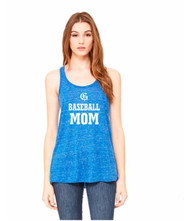 GMB Bella + Canvas Flowy Racerback Women's Tank - True Royal Marble