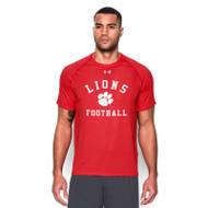 CLF Under Armour Men's Short Sleeve Locker T - Red