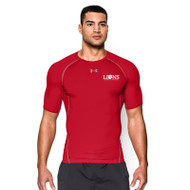 CLF UA Men's Heatgear Armour short Sleeve Tee - Red