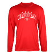 AJX ATC™ Pro Team Long Sleeve Youth Tee - Red/White
